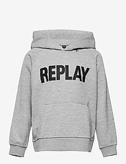 Replay - Sweater - sweatshirts - grey melange - 0