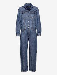 Replay - Jumpsuit Rose Label Pack - jumpsuits - medium blue - 0