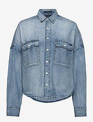 Replay - Shirt - jeansblouses - light blue - 0