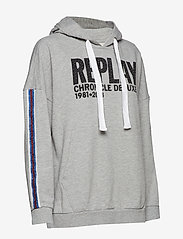Replay - Sweatshirt - hoodies - light grey melange - 2