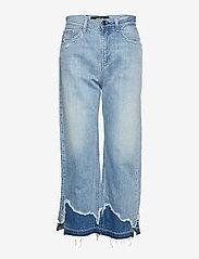Replay - AGATHE - wide leg jeans - light blue - 0