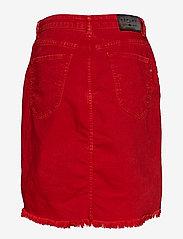 Replay - Skirt - denim skirts - bright red - 1