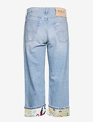 Replay - Shorts - brede jeans - super light blue - 1
