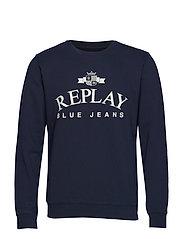 Sweatshirt - MIDNIGHT BLUE...