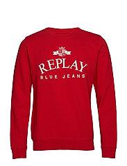 Sweatshirt - RUBY RED