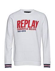Sweatshirt - OPTICAL WHITE