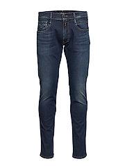 Anbass Hyperflex Slimmade Jeans Blå REPLAY