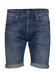 Replay - RBJ.901 SHORT - denim shorts - medium blue - 0