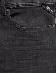 Replay - T-Shirt - denim shorts - dark grey - 2