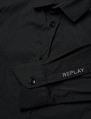 Replay - SHIRT Back To School - overhemden - black - 2