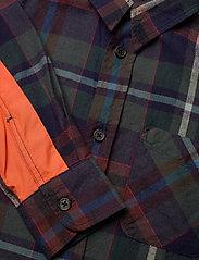 Replay - SHIRT - overhemden - yarn checked blue - 2