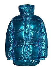 Jacket - LIGHT BLUE METALIZED