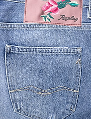 Replay - ANYTA Rose Label Pack - jeansshorts - medium blue - 4