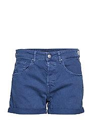 Denim Shorts - DEEP BLUE