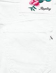 Replay - Dress - chinos - optical white - 4