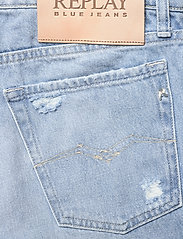 Replay - Shorts - brede jeans - super light blue - 4