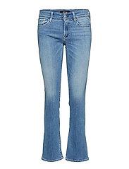 Luz Bootcut Jeans Boot Cut Blå REPLAY