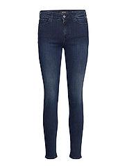 LUZIEN Trousers 99 Denim - DARK BLUE
