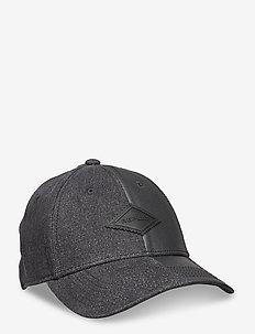 Hat - petten - washed black