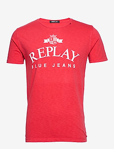 T-Shirt - logo t-shirts - poppy red