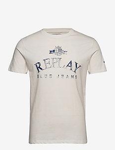 T-Shirt - kortermede t-skjorter - butter white