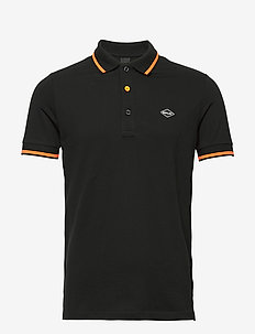 Polo - short-sleeved polos - black