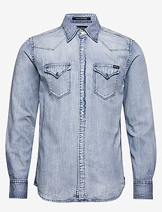 Shirt - peruspaitoja - light blue