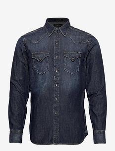 Shirt - peruspaitoja - dark blue