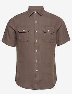 Shirt - basic shirts - light brown