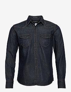 Shirt AGED - basic overhemden - dark blue