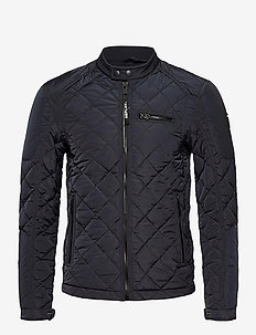 Jacket - quilted jackets - blue