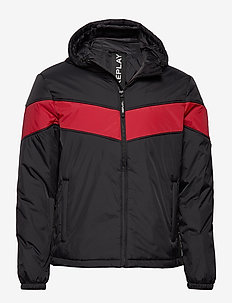 NYLON - padded jackets - black