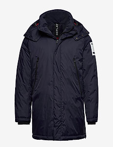 NYLON - padded jackets - navy