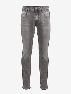 ANBASS - skinny jeans - medium grey