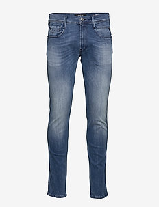 ANBASS - skinny jeans - light blue