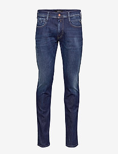 ANBASS - slim jeans - dark blue