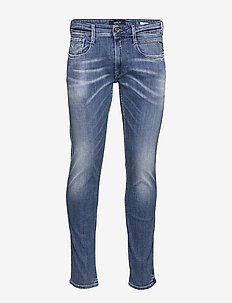 ANBASS - skinny jeans - medium blue