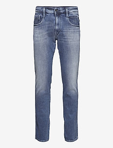 ANBASS - slim jeans - medium blue