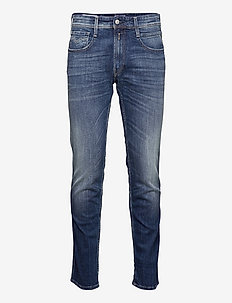 ANBASS Trousers 573 BIO - slim jeans - medium blue