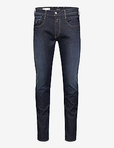 ANBASS - slim jeans - dark blue