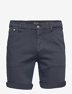 LEHOEN SHORT - denim shorts - blue