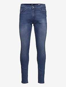 JONDRILL Trousers 99 Denim - skinny jeans - medium blue