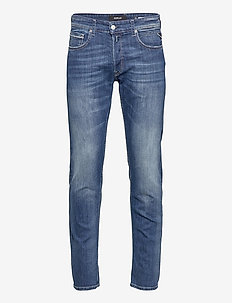 GROVER - regular jeans - medium blue