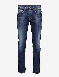 GROVER - slim jeans - dark blue