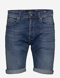 RBJ.901 SHORT - short en jean - medium blue