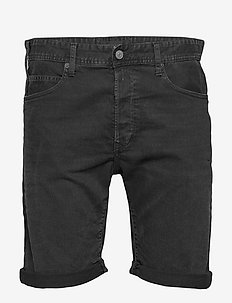 RBJ.901 SHORT - denim shorts - black delavÈ