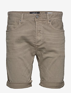 RBJ.901 SHORT - denim shorts - mud
