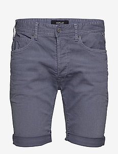 RBJ.901 SHORT - denim shorts - stone blue