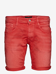 ANBASS SHORT - POPPY RED