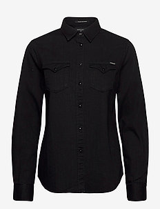Shirt - jeansblouses - black